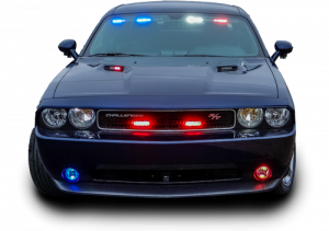 Front of Police Car
